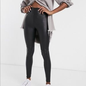 ASOS Tall leather looking legging
